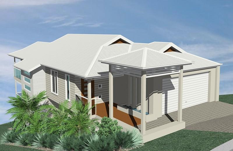 Excellent Contemporary Queenslander House Designs Images - Simple ...